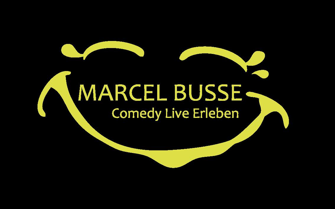 Logo Marcel Busse - Comedy live erleben
